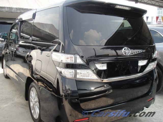 Toyota Vellfire 2 4 For Sale in Klang Valley by Asbee recond car