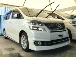 Toyota Vellfire 3.5 VL Showroom Car