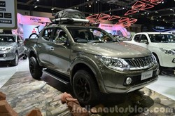 2015 mitsubishi triton acceessorized front three quarters at the 2014 thailand international motor expo 1024x677 thumb