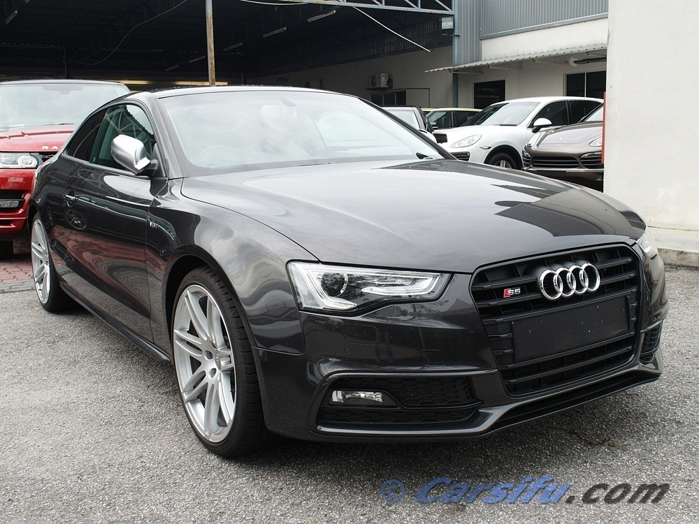 audi s5 3 0 v6 quattro coupe for sale in klang valley by phantom auto. Black Bedroom Furniture Sets. Home Design Ideas