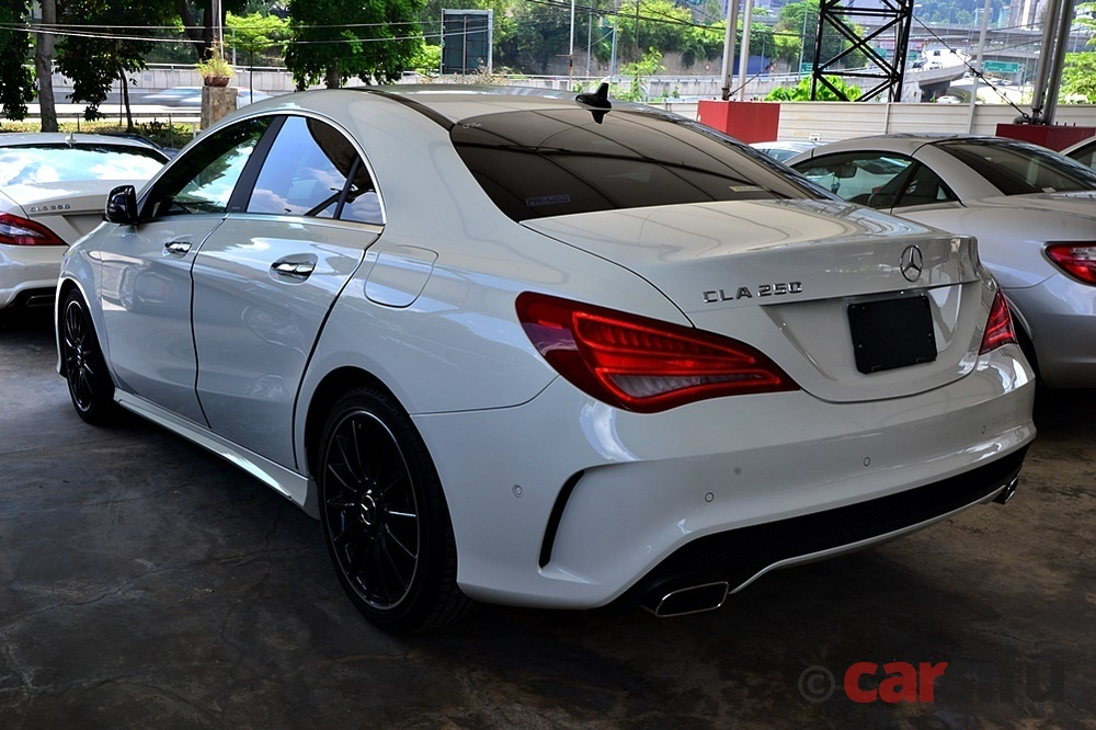 mercedes benz cla250 amg pack for sale in klang valley by phantom auto. Black Bedroom Furniture Sets. Home Design Ideas