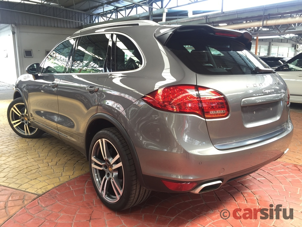 porsche cayenne 3 0 v6 diesel turbo for sale in klang valley by wins. Black Bedroom Furniture Sets. Home Design Ideas