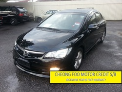 Honda Civic 2.0 (A) F/Warranty
