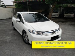 Honda Civic 1.5 Hybrid Warranty