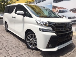 Toyota Vellfire Za Golden Eyes