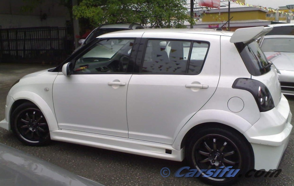 Suzuki Swift Pearl White For Sale In Penang By Srelax Sylve