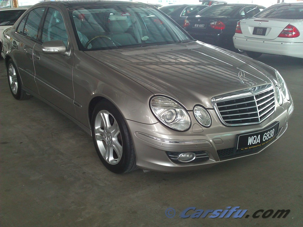 Mercedes e280 v6 for Mercedes benz v6
