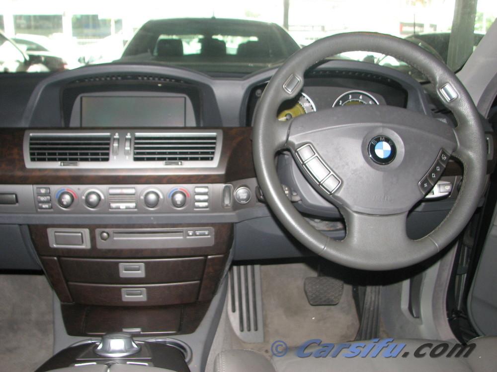 BMW 730i SE UK Specs