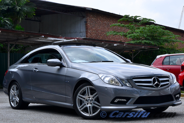 mercedes benz e350 cgi amg coupe for sale in klang valley. Black Bedroom Furniture Sets. Home Design Ideas