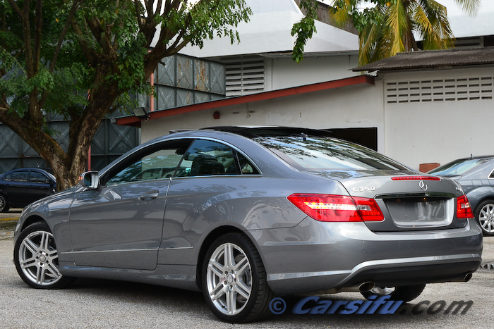 mercedes benz e350 cgi amg coupe for sale in klang valley by exoticars kl. Black Bedroom Furniture Sets. Home Design Ideas