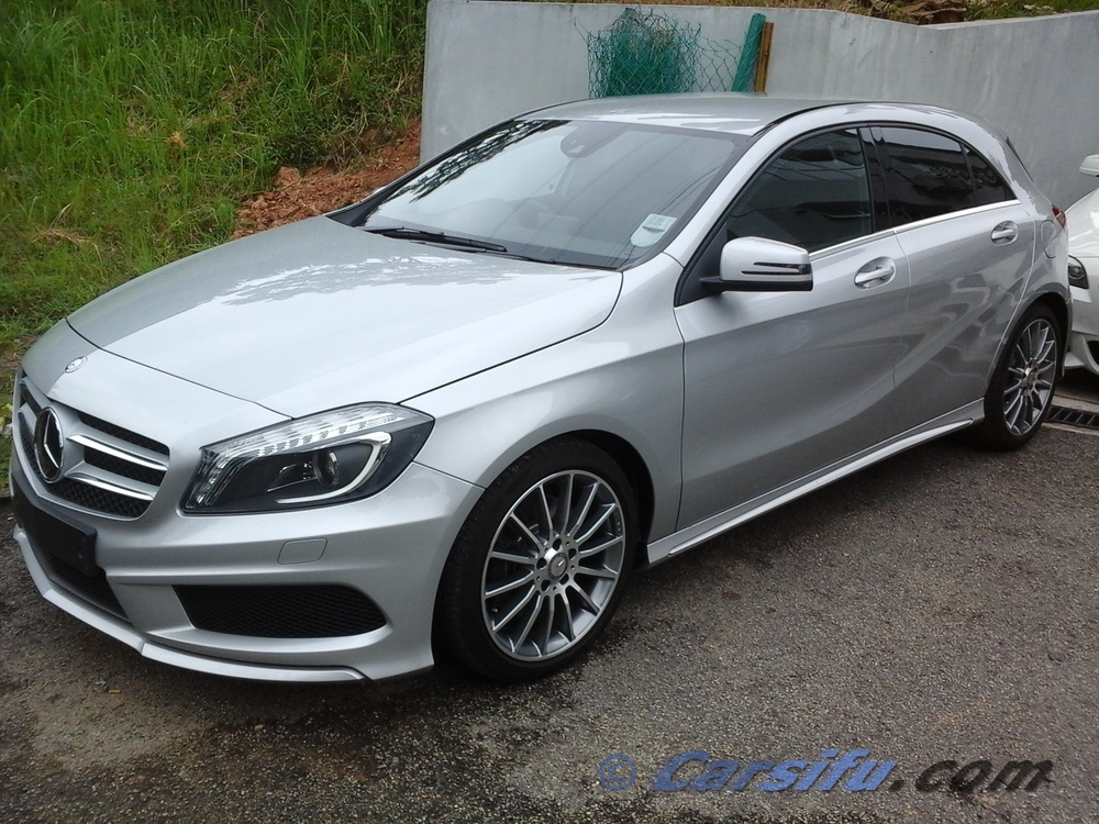 mercedes benz a250 amg sport for sale in klang valley by
