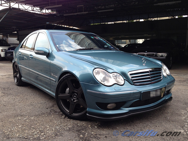 mercedes benz c32 amg for sale in klang valley by bespokemotoring. Black Bedroom Furniture Sets. Home Design Ideas