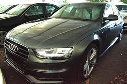 Audi a4 2.0 tfsi s line quattro  07672 i.silver gray  black alcantara 12  mjt 03 thumb