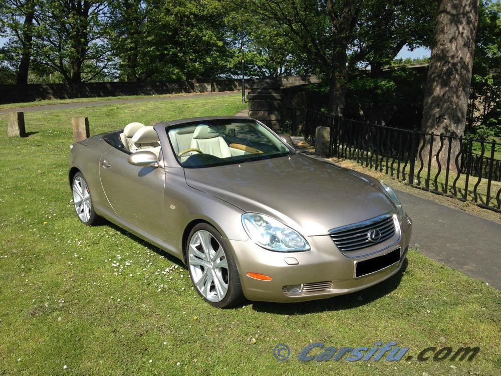lexus sc430 cabrio gold for sale in penang by descisecce. Black Bedroom Furniture Sets. Home Design Ideas