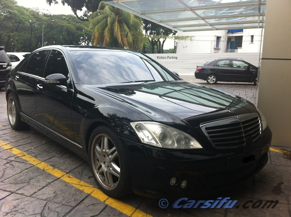mercedes benz s300 l brabus b kit for sale in klang valley