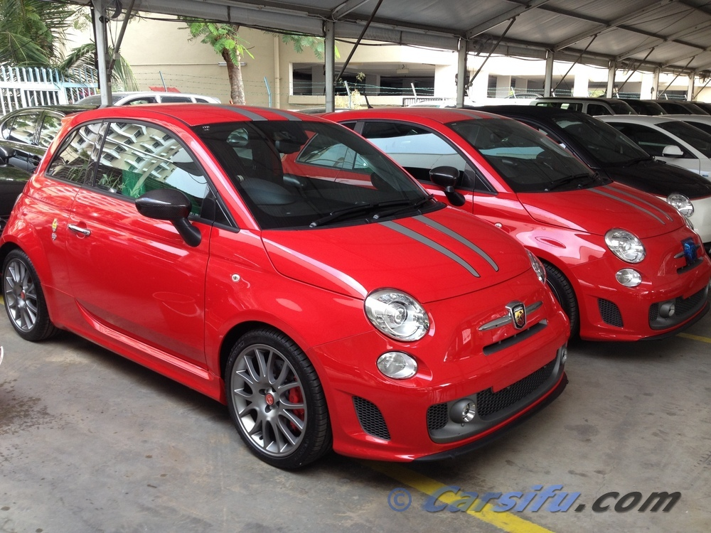 fiat 500 abarth 1 4 t ferrari for sale in klang valley by. Black Bedroom Furniture Sets. Home Design Ideas