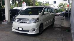 2006  alphard 2.4 as a thumb