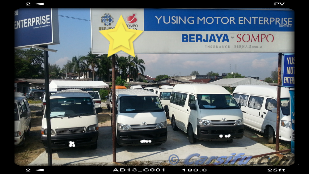 a1bdcd1520 Toyota Hiace Low Roof Van Limited For Sale in Klang Valley by ...
