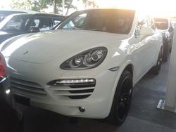 Porsche cayenne s hybrid 3.0 proof unreg 2011 white 460k ms pb bose ams rc j1530  thumb