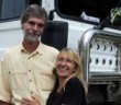 With a big truck and even bigger dreams, nothing can stop this couple from taking on the world.