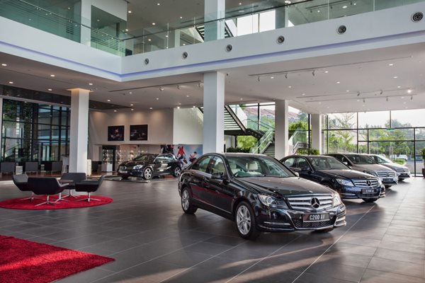 Largest merc autohaus 3s centre opens in balakong carsifu for Mercedes benz rockville centre service