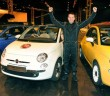 Alastair Moffatt with the Fiat 500.