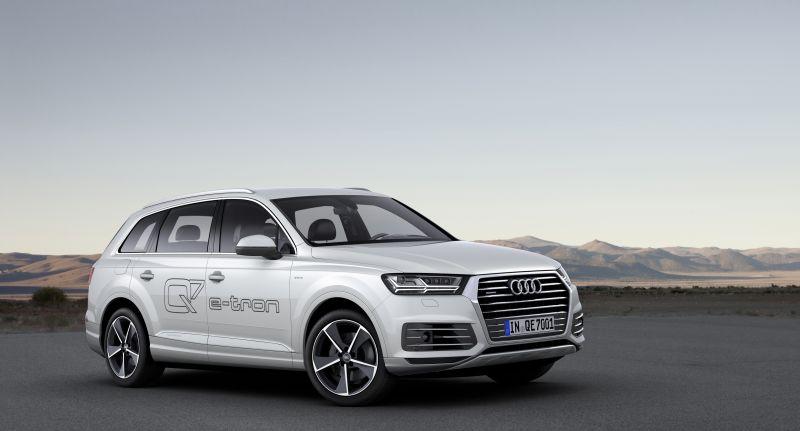 Audi Q7 e-tron 3.0 TDI quattro.
