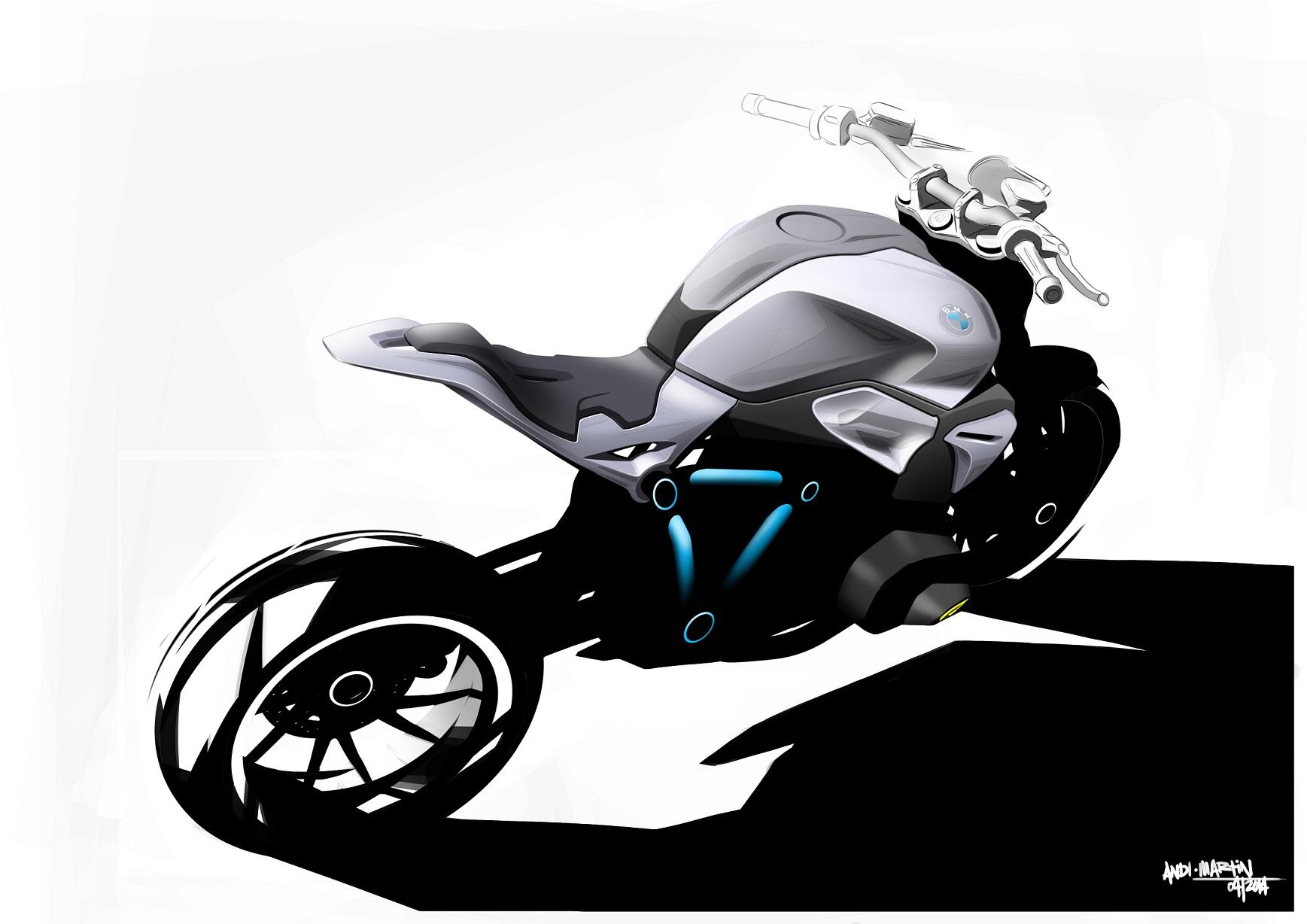 Bmw Roadster Bike Bmw Concept Roadster 1