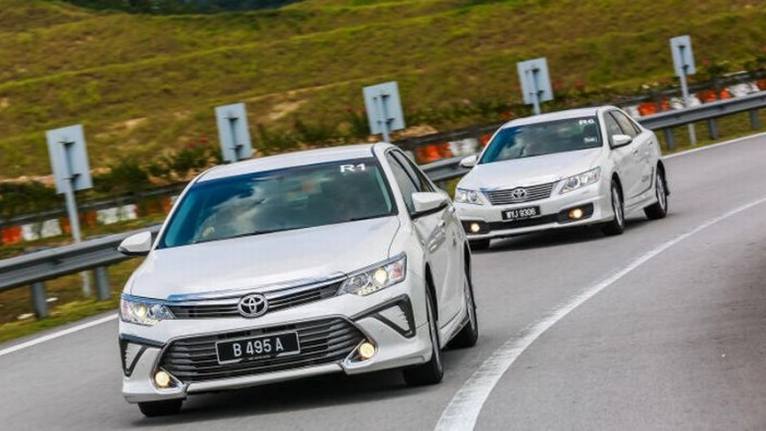 First drive of new Toyota Camry