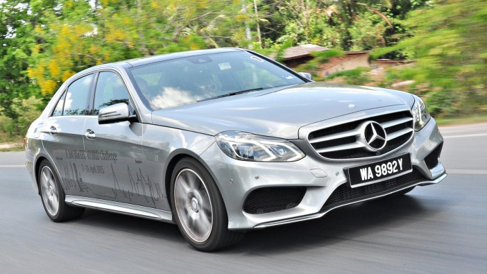Mercedes hybrid makes KL-Bangkok run