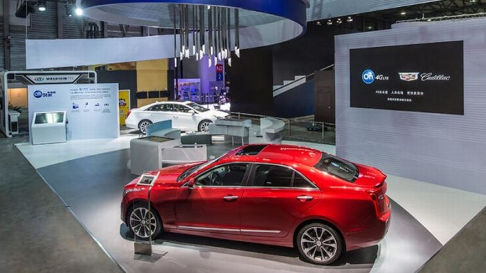 Cadillac showcases China's first 4G/LTE in-car telematics system