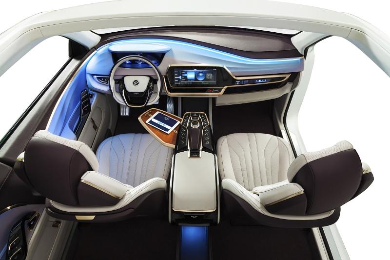 Auto industry shows off car cockpit of future carsifu for Auto interior designs