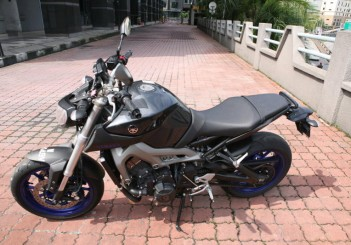Yamaha MT-09 - 16