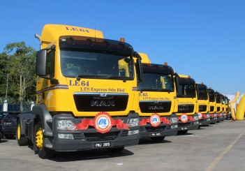 MAN TGS 19.360, 4x2 prime mover