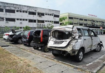 Malacca road rage