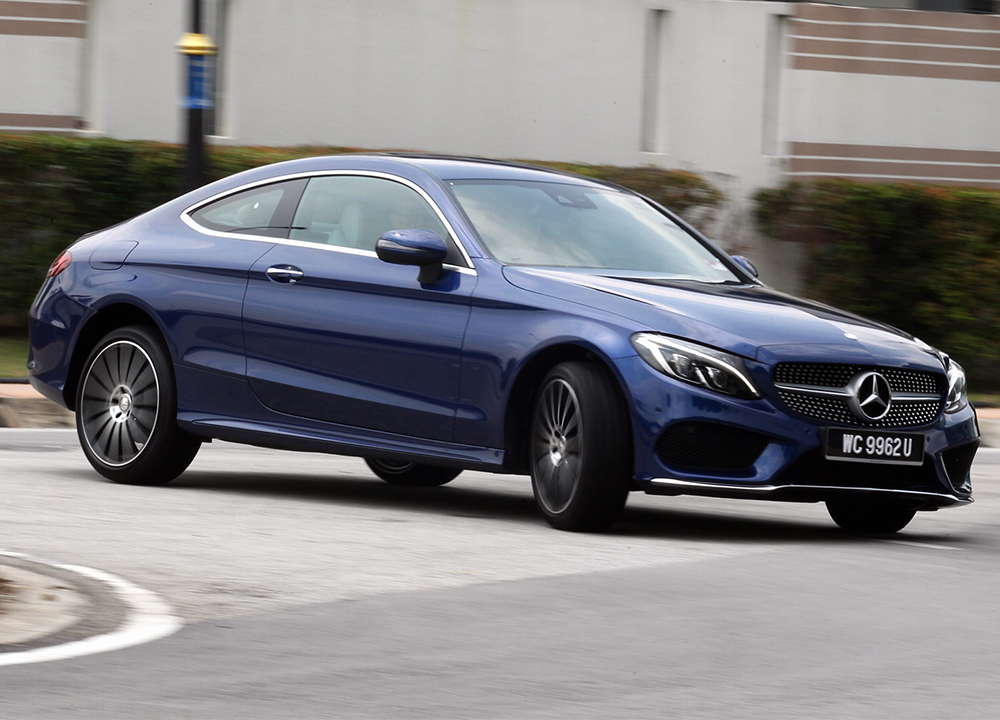First Drive Mercedes Benz C 250 Coupe Carsifu