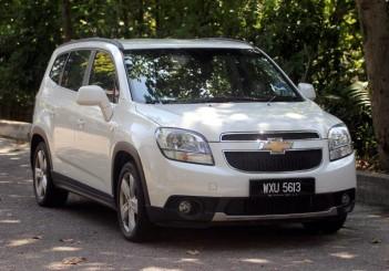 Chevrolet Orlando - 01