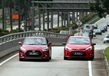 Hyundai Veloster Turbo and Kia Cerato Koup - 03
