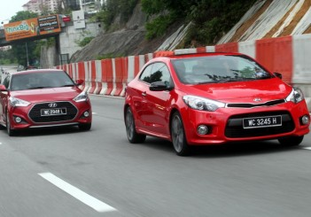 Hyundai Veloster Turbo and Kia Cerato Koup - 05