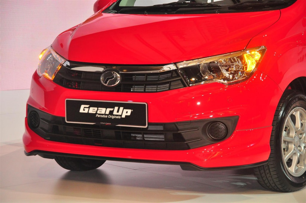 Perodua Bezza with GearUp accessories - 02