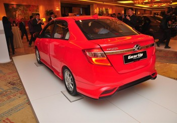 Perodua Bezza with GearUp accessories - 22