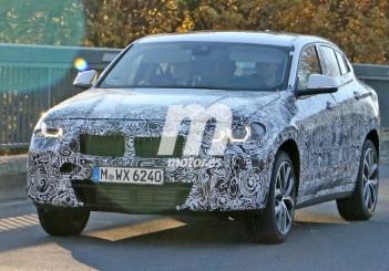 BMW X2 concept spied - 01