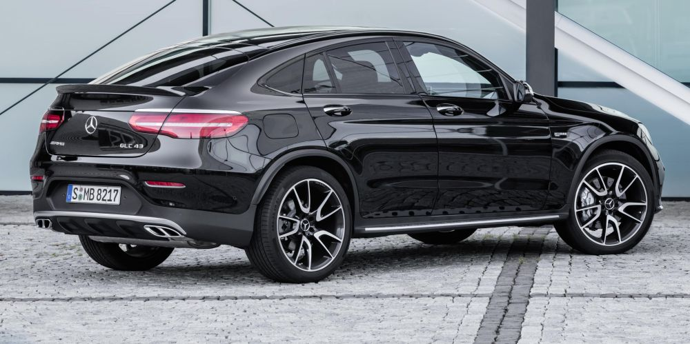 mercedes amg glc 43 coup performance without the price. Black Bedroom Furniture Sets. Home Design Ideas