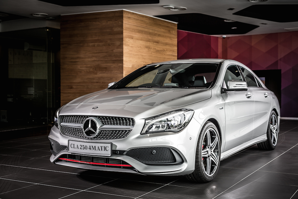 facelifted mercedes benz cla is here carsifu. Black Bedroom Furniture Sets. Home Design Ideas