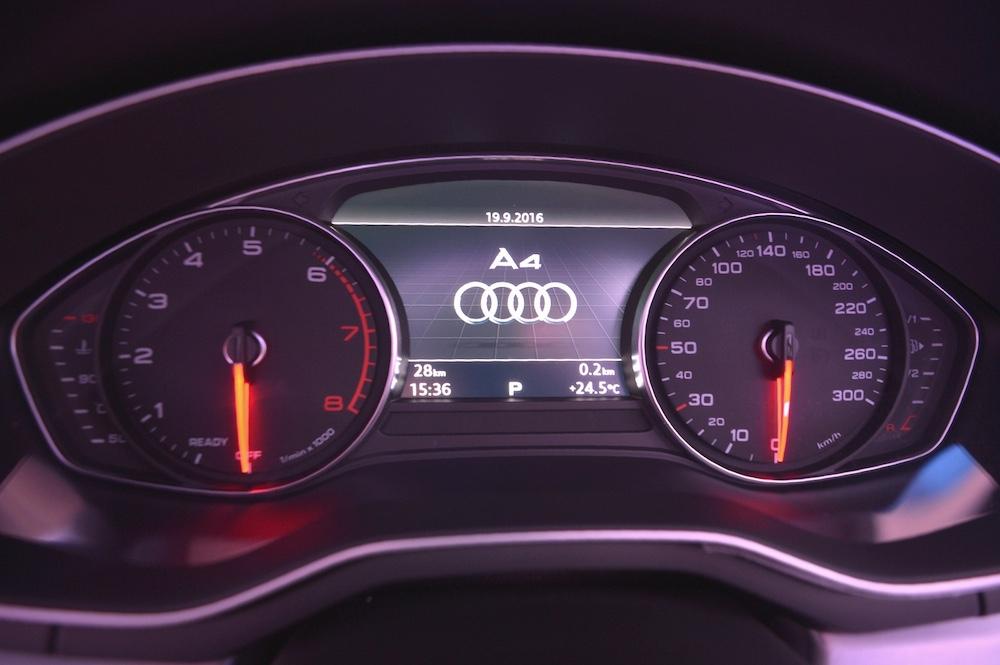Audi A4 launch.