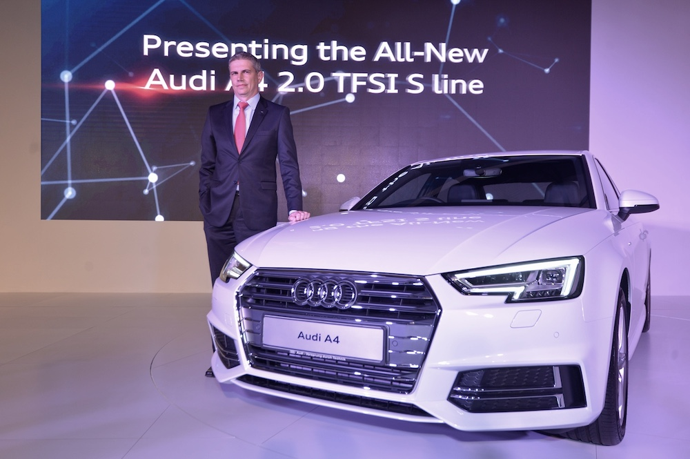 Audi Malaysia marketing director Rudi Venter.