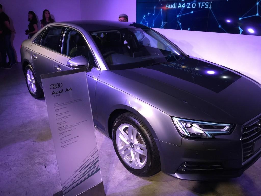 The standard Audi A4 2.0 TFSI.