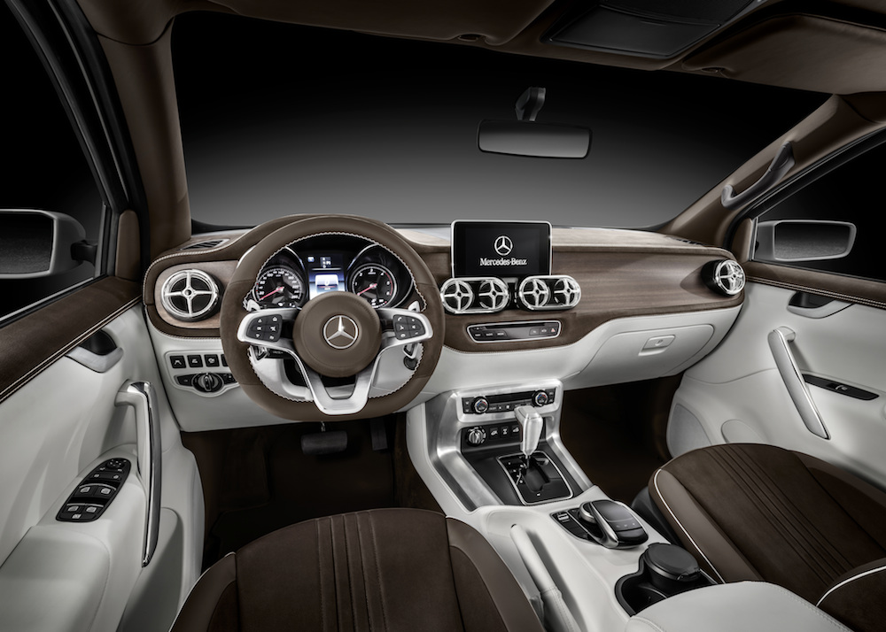 Mercedes-Benz Concept X-CLASS – Erster Ausblick auf den neuen Pickup mit Stern