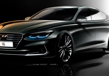 Hyundai Motor Unveils First Renderings of the All-new Azera (1)