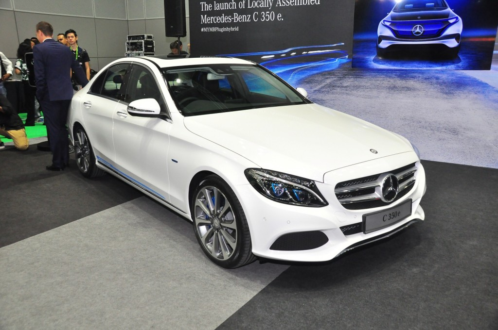 Mercedes benz launches c 350 e plug in hybrid from rm290k for Mercedes benz 350 c